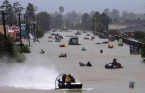 Harvey retorna à costa e atinge Louisiana