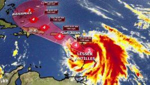 Maria atinge Porto Rico com ventos de 230 km/h jamais vistos
