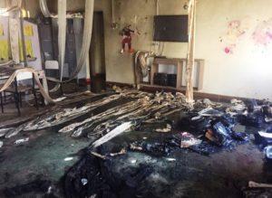 Segurança põe fogo em creche, mata 4 crianças e se mata em MG