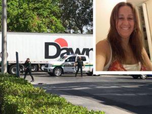 Brasileira morre atropelada por carreta em Pompano