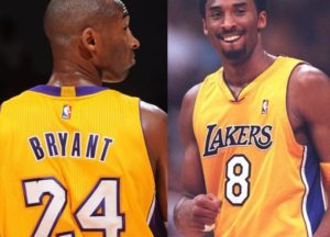 Los Angeles Lakers aposenta as camisas 8 e 24 de Kobe Bryant