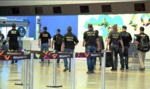 PF desmonta quadrilha de tráfico internacional de drogas no Galeão