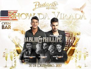 Shows da Virada no Padano, Catalina Hotel e mais
