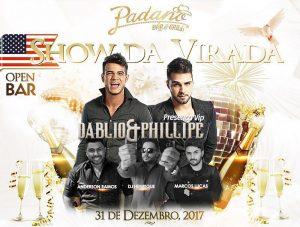 Shows da Virada no Padano, Catalina Hotel e mais