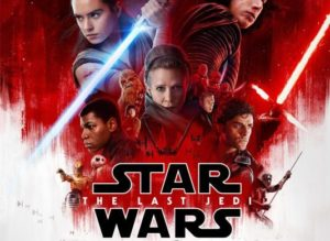 """Star Wars: The Last Jedi"" está na lista de estreia nos cinemas"