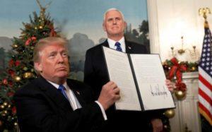 Trump muda embaixada para Jerusalém e aumenta tensão no Oriente Médio