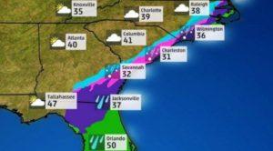 Nova onda de frio deve trazer neve à Flórida