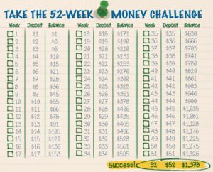 Desafio das 52 Semanas!