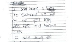 Aluna de 11 anos é detida por fazer ameaça de tiro em escola de Davie