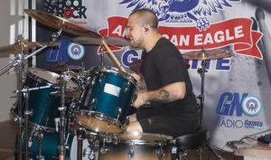 Workshop com Eloy Casagrande, baterista do Sepultura