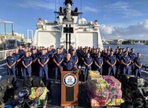 Guarda Costeira apreende 7 toneladas de cocaína em Port Everglades