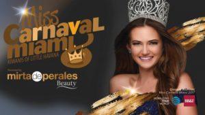 Miss Carnaval em Miami