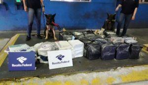 Receita Federal realiza grande apreensão de cocaína em porto de SP