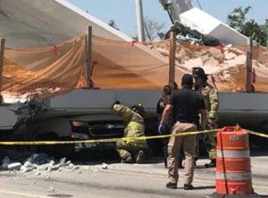 Construtora de ponte que desabou em Miami já foi envolvida em outros acidentes