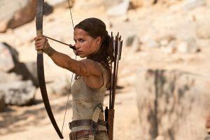 """""""Tomb Raider"""" é o destaque das estreias da semana"""