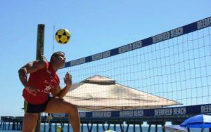 Futevôlei e vôlei são as atrações do Deerfield Beach Sports Festival