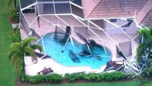 Tornado toca em Palm Beach County
