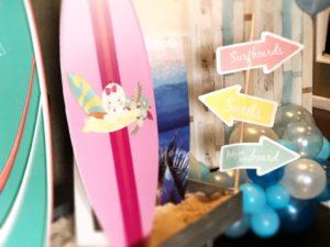 Surf baby shower