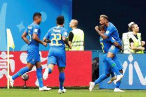 Copa 2018: Brasil vence a seleção da Costa Rica