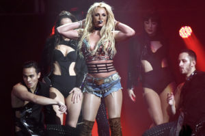 Britney Spears faz show no Hard Rock