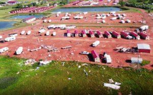 Tornado mata recém-nascido e deixa pessoas feridas em Dakota do Norte