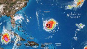 Furacão Florence pode atingir categoria 5 ao se aproximar dos EUA
