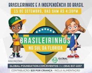 Global Foundation realiza 6ª edição do Projeto Brasileirinhos no Sul da Flórida