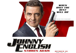 "Estreia no fim de semana a comédia ""Johnny English Strikes Again"""