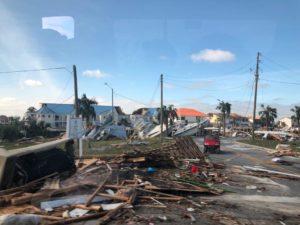 Mais de 118.000 casas continuam sem energia na FL e GA após o furacão