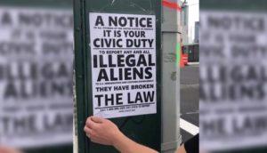 Panfletos intimidando imigrantes são pregados em bairro de NY