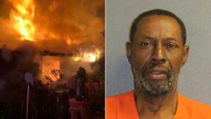 Homem incendeia a própria casa na Flórida por causa de vampiros