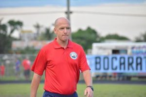 Boca Raton FC renova com o técnico Jim Rooney
