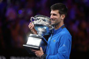 Novak Djokovic vence o Aberto de Tênis da Austrália