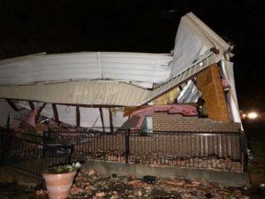 Tornado no Mississipi deixa uma pessoa morta