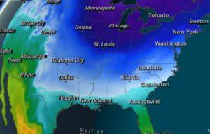 Após tornados, Alabama está sob avisos de congelamento