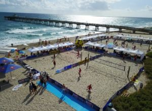 National Footvolley Association lança 3ª edição do 2019 NFA Tour em Deerfield Beach