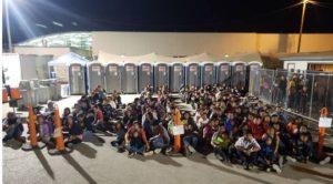 Em menos de 24h, Patrulha da Fronteira apreende mais de 670 imigrantes em travessia ilegal