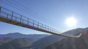 Maior ponte suspensa para pedestres nos EUA será inaugurada no Tennessee