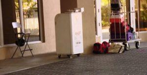 Carros são roubados de estacionamento com manobrista no centro de Miami