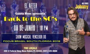 "Festa ""Back to the 80's"" em Boca Raton"