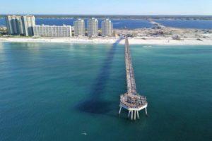 Praia com o maior píer da Flórida quebra recordes de turismo
