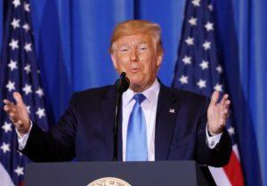 """""""A menos que façamos algo muito milagroso"""", diz Trump sobre batidas do ICE após 4 de julho"""