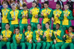 Handebol feminino é ouro no Pan-Americano