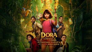 "Estreia de ""Dora and The Lost City of Gold"""