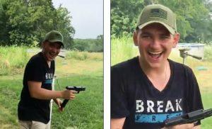 Jovem entra fortemente armado e causa pânico em Walmart no Missouri