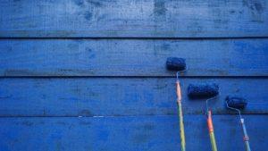 Tudo azul – ou quase