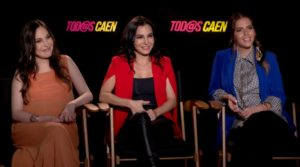 """Martha e Miri Higareda & Claudia Alvarez falam da guerra do sexos em """"Tod@s Caen"""" – EXCLUSIVO"""