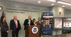 ICE prende 54 imigrantes – sete brasileiros- com passagem pela polícia em Nova Jersey