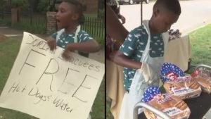 Menino troca aniversário de 7 anos na Disney por ajuda às vítimas do furacão Dorian