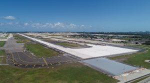 Ambas as pistas estão abertas no aeroporto de Fort Lauderdale após uma grande reforma